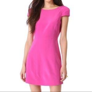 Tibi structured backless dress